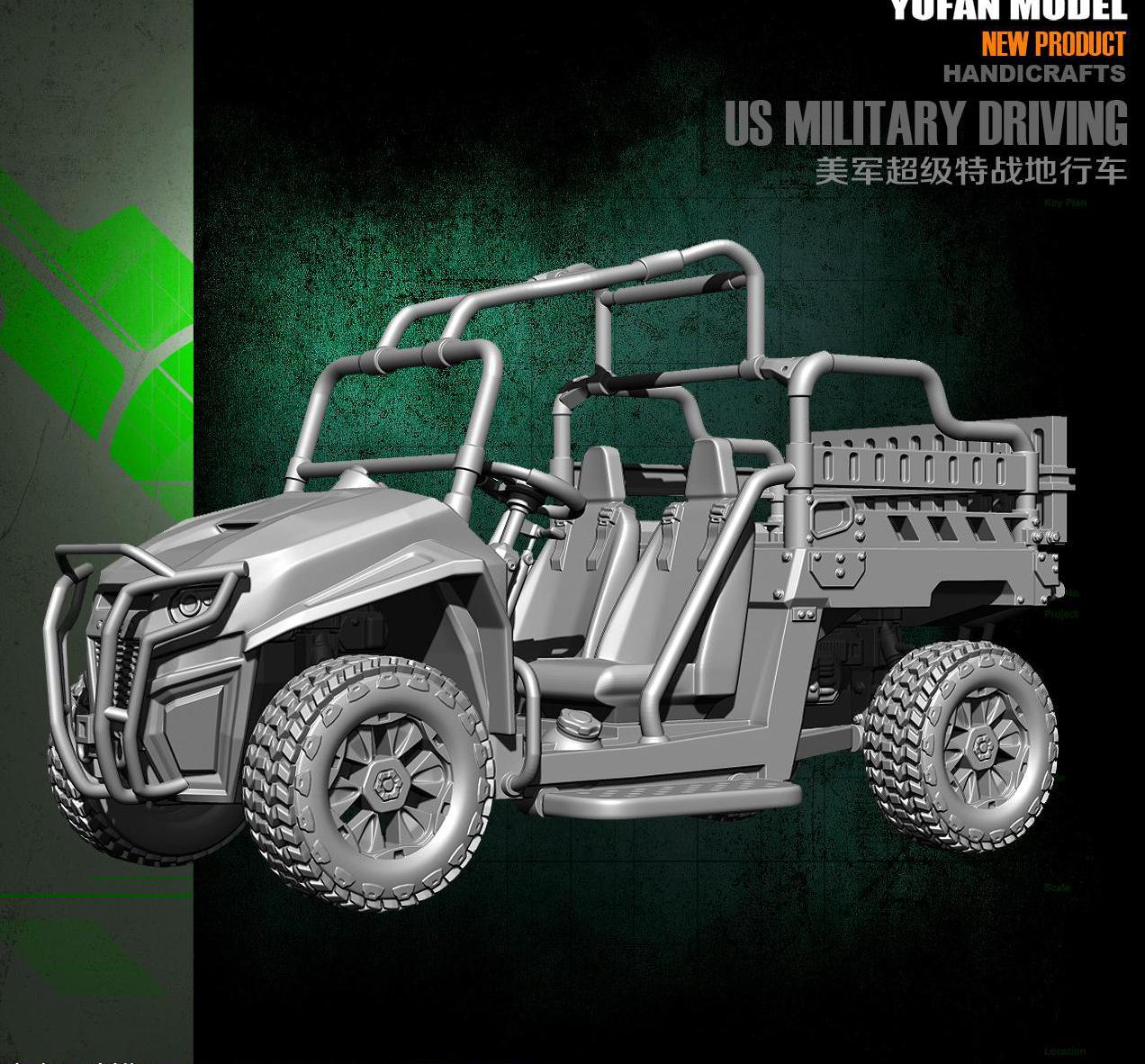 Yufan Model 1/35 Resin Model Oorspronkelijk YFWW35 1854 Van U. s. Leger Terreinwagen-in Modelbouwen Kits van Speelgoed & Hobbies op  Groep 2
