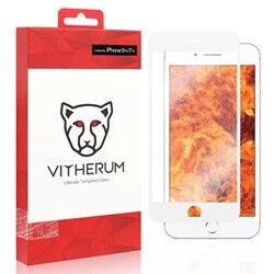RUBY-ostateczny odporność na szkło hartowane dla iPhone 8 +/7 + (biała ramka)