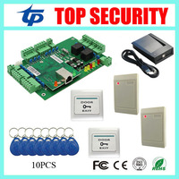 Smart Card Door Access Control System TCP IP Webserver Remote Control Access Control Panel With RFID