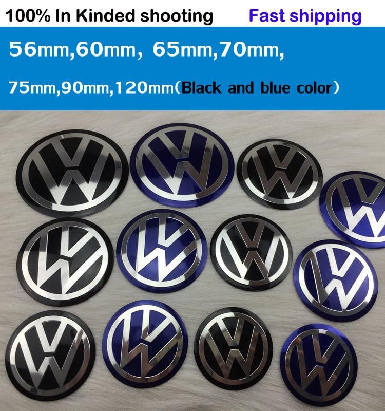 Vw Center Cap Sticker 60mm Volkswagen Car