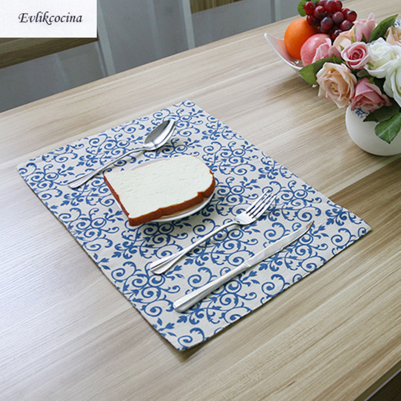 Free Shipping Chinese Style Placemat Dining Table Coaster Cloth Insulation Coffe Tea Cup ...
