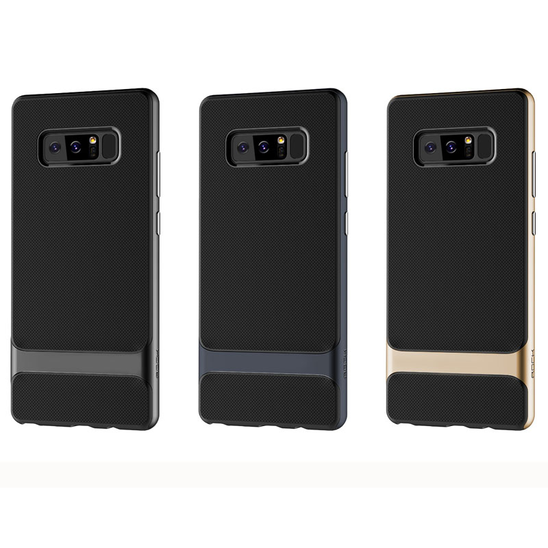 meet a7923 c4a03 US $8.47 34% OFF|For Samsung Galaxy Note 8 ROCK Royce Series Protection  Case for Samsung Note 8 6.3inch Protective phone back cover case newest-in  ...