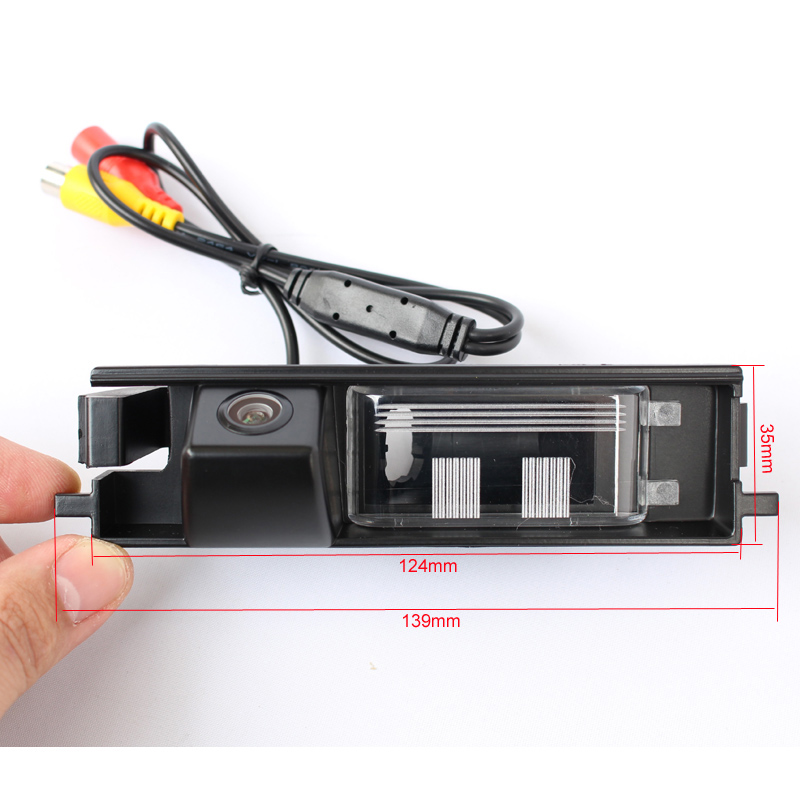 Factory Selling CCD HD Special Car Rear View Reverse Backup Camera For 09 Chery Tiggo A3 Sedan Toyota Rav4