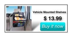 Vehicle Mounted Shelves