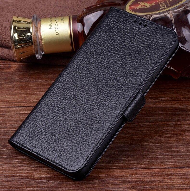 Nefeilike étui de luxe Xiao mi mi mi X 3 en cuir véritable étui à rabat Stand livre portefeuille étui housse Coque téléphone sacs