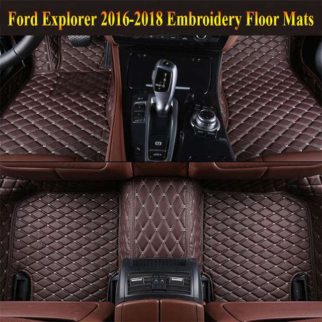 weather tan explorer mountaineer all aviator floor mats rubber row ford weathertech lincoln