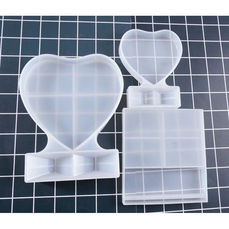 1 Stück Foto Rahmen Geformt Schmuck Werkzeug Schmuck Form Uv Epoxy Harz Silikon Formen Für Herstellung Von Schmuck