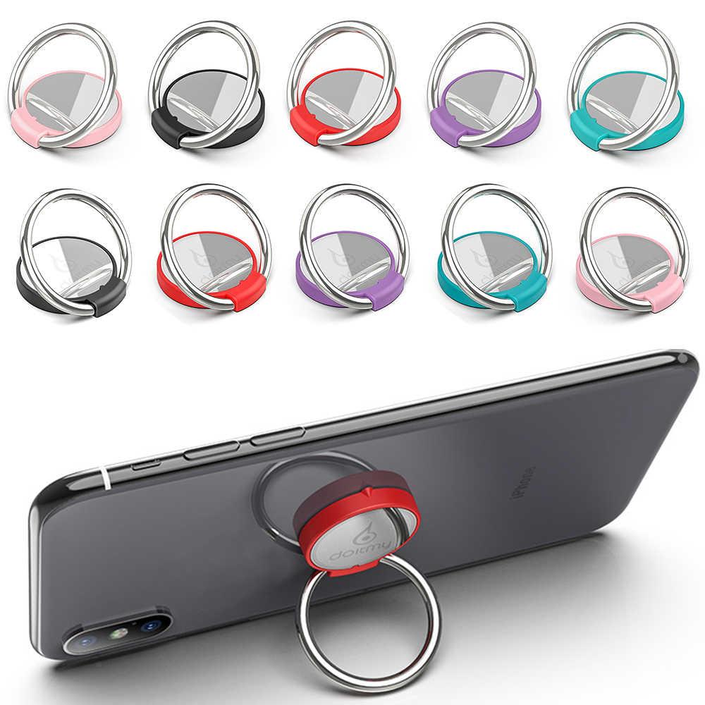 Doitmy Rond Multi-fonction Voiture support pour téléphone Anneau Boucle étui de téléphone portable Support de Tablette porte-anneau