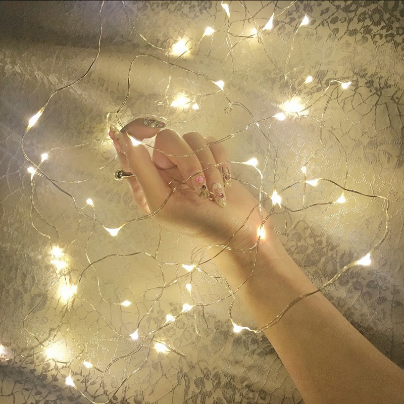 3M 30 Leds Copper Wire Fairy Lights Christmas Lights Indoor String LED For Festival Wedding Party Home Decoration Lamp
