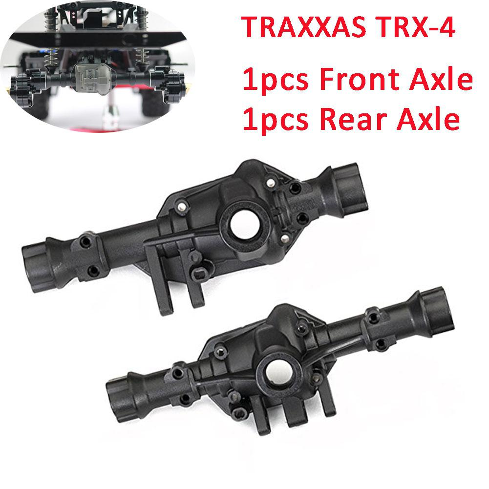 RCtown TRX4 Metal Front Axle Rear Axle for 1 10 RC Upgrade Metal Parts for Crawler