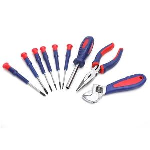 Image 4 - Workproホームツールセット家庭用ツールキットソケットセットドライバーセット家の修理ツールdiyハンドツール
