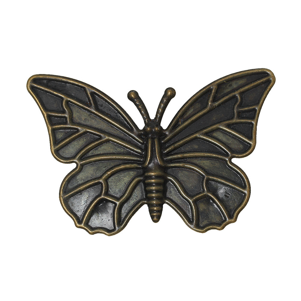 Doreen Box Lovely 30PCs Antique Bronze Filigree Butterfly Embellishments Findings 6x4cm(2-3/8x1-5/8) (B18887)Doreen Box Lovely 30PCs Antique Bronze Filigree Butterfly Embellishments Findings 6x4cm(2-3/8x1-5/8) (B18887)
