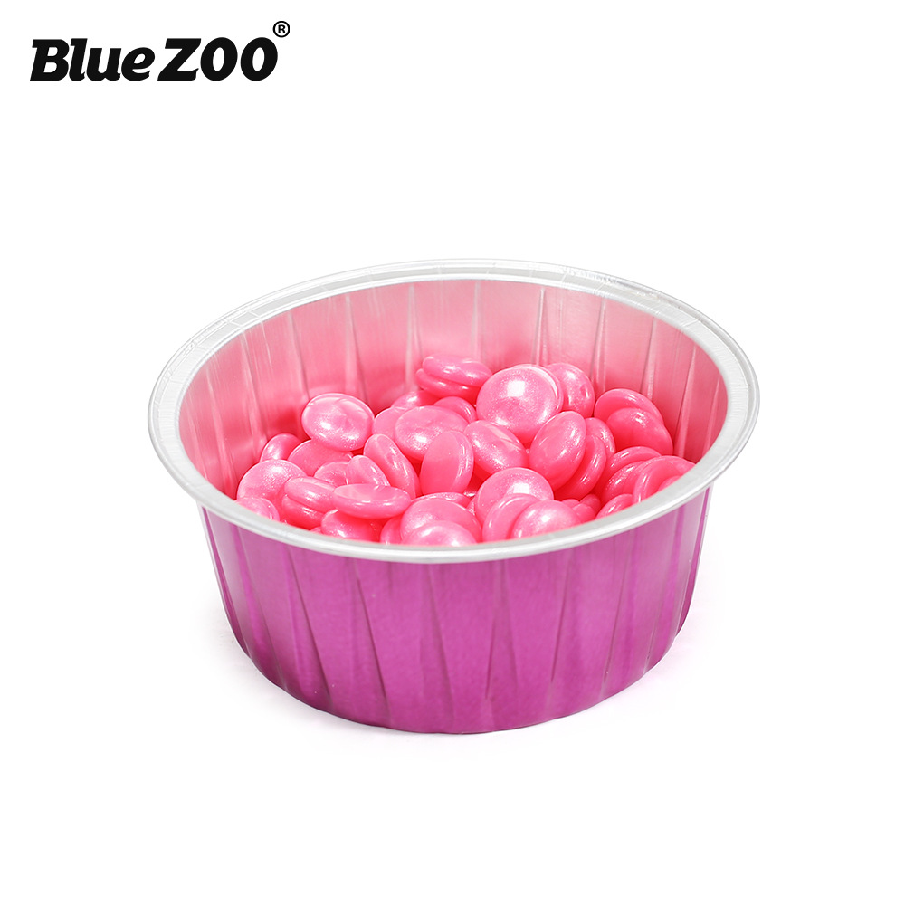 Hair Removal Cream Beauty & Health Expressive Blue Zoo Hair Removal Tools For Hard Wax Beans Rose Red Color Round Shape 80g Capacity Aluminium Foil Wax Melting Bowl Bz104