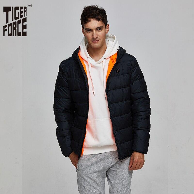 BOSIDENG winter thicken down jacket for men hooded down coat warm outwear mid long regular top