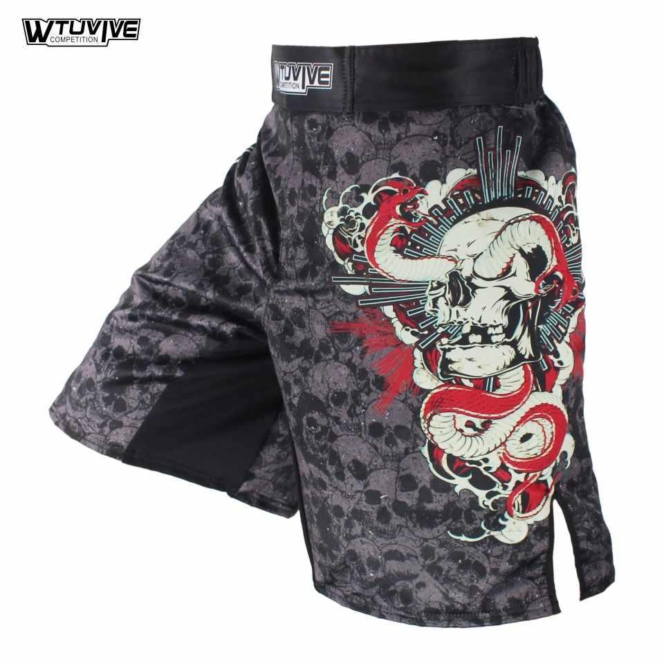 SOTF Muay Thai explosie Vechten Duurzaam stoffen Elastische kruis goedkope mma shorts mannen goedkope shorts Sport Wear Jiu Jitsu