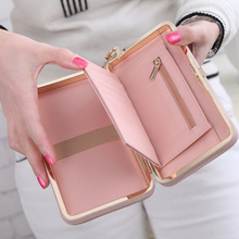 famous brand Purse bow wallet card holders for female.