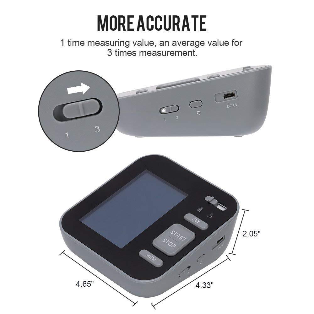 Tech Features - Majota Cigbg Home Digital Upper Arm Blood Pressure Monitor