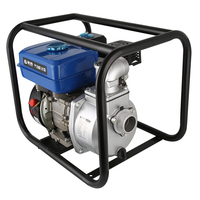 4 Agricultural Irrigation Centrifugal Water Pump Gasoline Engine Self Priming Water Pump Set Applied For Fire/Garden/Maritime