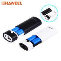 HAWEEL Centechia 2x 18650 USB Mobile Power Bank Battery Charger Box Case DIY Kit For MP3 iPhone