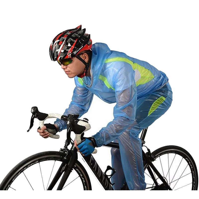 ROCKBROS Waterproof Cycling Jersey breathable Jacket Jersey Windproof Coat Clothing MTB Reflective Bike Road Raincoat RK0019 (8)