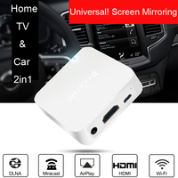 Wireless WIFI Screen Sharing Box HDMI AV Adapter For iPhone XS MAX XR iOS Samsung Android Phone DLNA Airplay Connect to Car / TV