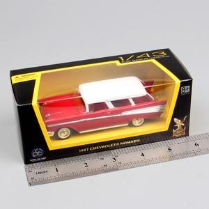 Image 5 - 1:43 весы, мини старое 1957 г. Г., Chevrolet Nomad, вагончик, Van hardtop, седан, металлические Литые машины, модель автомобиля, игрушка в подарок, Реплика ребенка