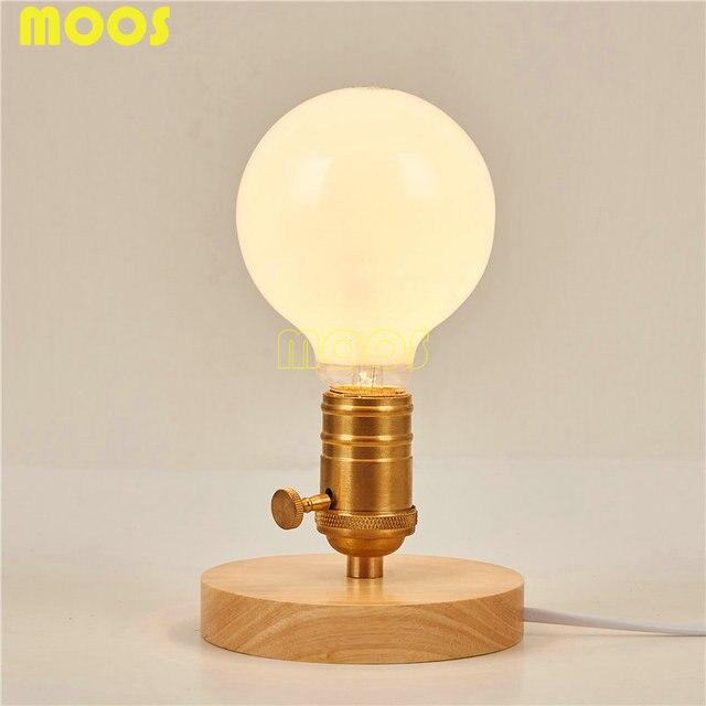 Aliexpress Buy Loft Vintage Table Lamp American fashion – Light Bulb Desk Lamp