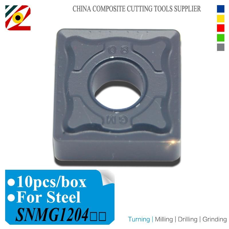 EDGEV 10PCS CNC-keményfém betétek SNMG120404 SNMG120408 SNMG120412 - Szerszámgépek és tartozékok - Fénykép 1