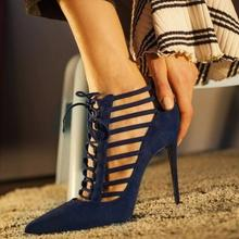 Rome Style Black Leather Cross Strappy Gladiator Sandals Women Peep Toe Lace-up Hollow Women Shoes High Heels Customized цены онлайн