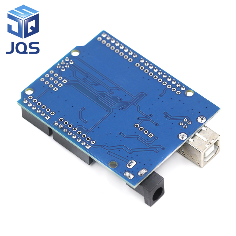 high quality One set UNO R3 CH340G MEGA328P for Arduino UNO R3 ATMEGA328P AU Development board in Replacement Parts Accessories from Consumer Electronics