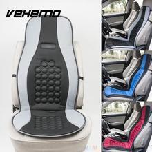Vehemo Auto Car Seat Cushion Magnet Round Bump Design Massage Function Universal