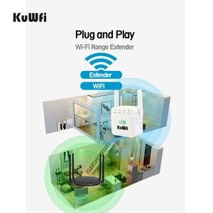 Image 5 - 300Mbps 무선 라우터 와이파이 리피터 2.4Ghz AP 라우터 802.11N 와이파이 신호 증폭기 범위 익스텐더 부스터 미국 EU 플러그