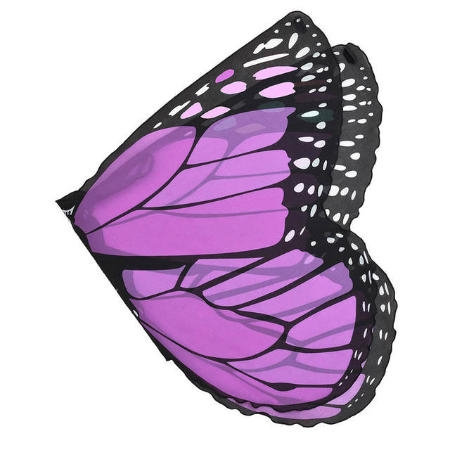 7f15c2efd1ae6 US $9.98 20% OFF|Butterfly Wings Ponchos Shawl Cape Scarf Wrap Fabric Dance  Wing Dress Up Costume for Children Kids Boys Girls Pashmina Accessory-in ...