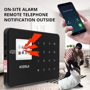 Image 5 - Corina W18 Wifi Gsm Alarmsysteem Auto Dial 6 Aangewezen Telefoon App Controle Aanpassen Bewegingsmelder Inbraakalarm