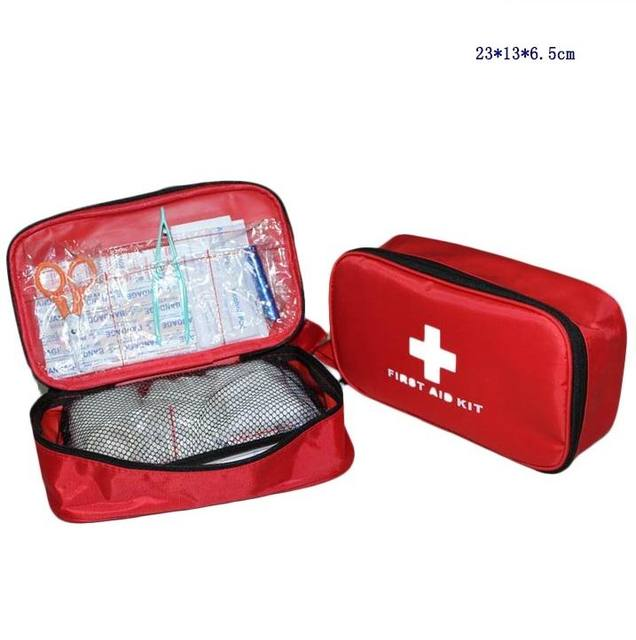 72 pçs/set seguro Kit de primeiros socorros de viagem Camping caminhadas de sobrevivência na selva ao ar livre Kits de tratamento de FAK-S08
