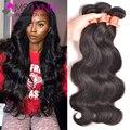7A Peruana Virgin Hair Body Wave 3 Bundles Peruano Suave Cuerpo onda Mejores Paquetes de Pelo Peruanos y Arrojar Libre Barato Armadura Del Pelo Humano