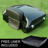 Chopped Tour Pak Trunk Backrest For Harley Touring 2014 17 Electra Street Glide Road King FLHX