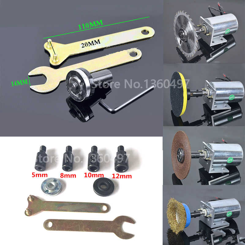 Cutting Machine 5 8 10 12 14mm Spindle Adapter M10 For