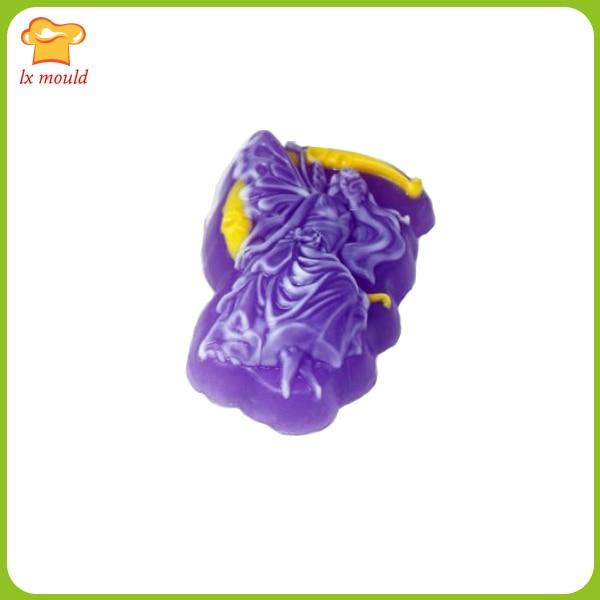 LXYY MOLD LX-A81 Angel Silikonová forma na mýdlo Ručně vyráběná forma na mýdlo Angel DIY Forma na zakázku