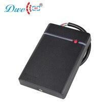 DWE CC RF cartão de controle de acesso leitor RS232/RS485 66 IP da porta de acesso leitor de cartão de proximidade com a cor preta