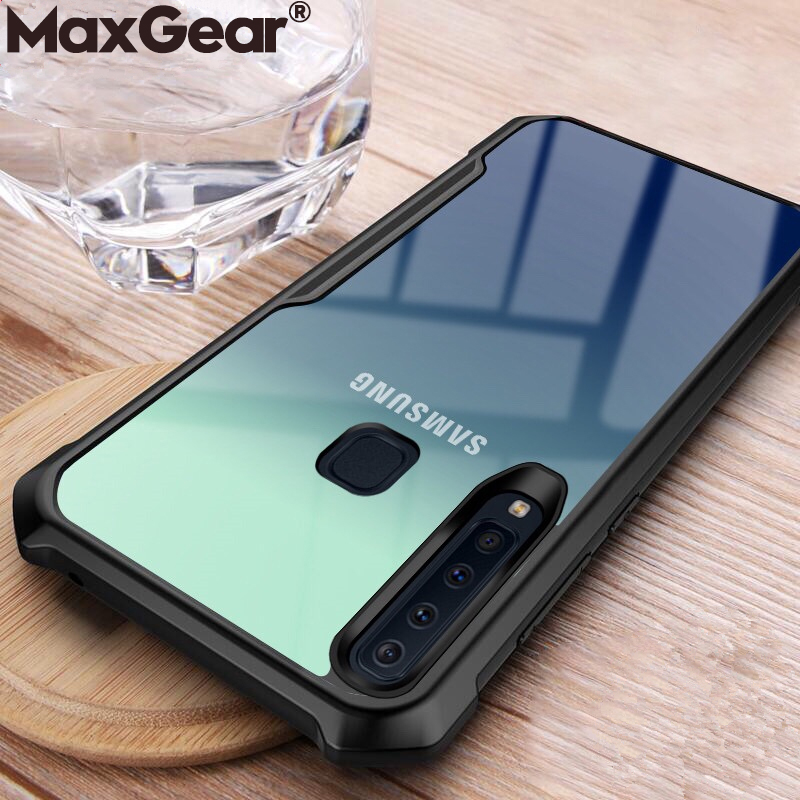 Clear-Cases Acrylic-Cover A30 S7-Edge Transparent S9-Plus Samsung Galaxy S10E A40 Note 8
