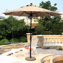 Rome outdoor umbrella shade umbrellas awning garden patio booth Leisure Straight aluminum