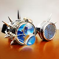 Hot Vintage Steampunk Goggles Halloween Cosplay Party Windproof Goggles