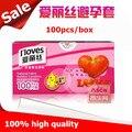 100pcs/box Strawberry flavor condones for man,Orange flavor Jasmine condone,high quality ultrathin condones contex