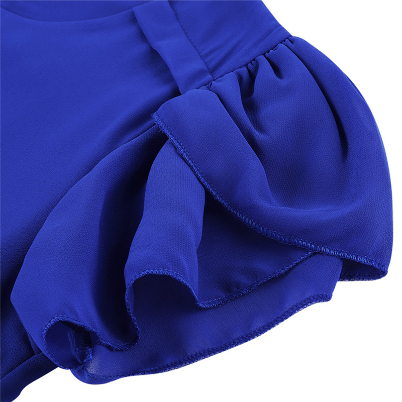 short sleeve chiffon blouse (11)