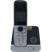 English Spain Language Dect 6 0 Digital Cordless Phone With Call ID White Backlit LCD Wireless