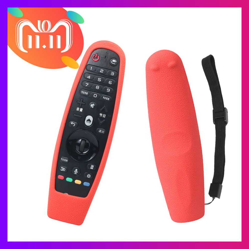 SIKAI Patent Silicone Case For LG Smart TV AN-MR600 Remote Control Cover For LG AN-MR650 For LG OLED TV Magic Remote Voice Mate original english version magic motion remote control an mr400g for lg 2013 smart tv la6200 la6500 series with manual