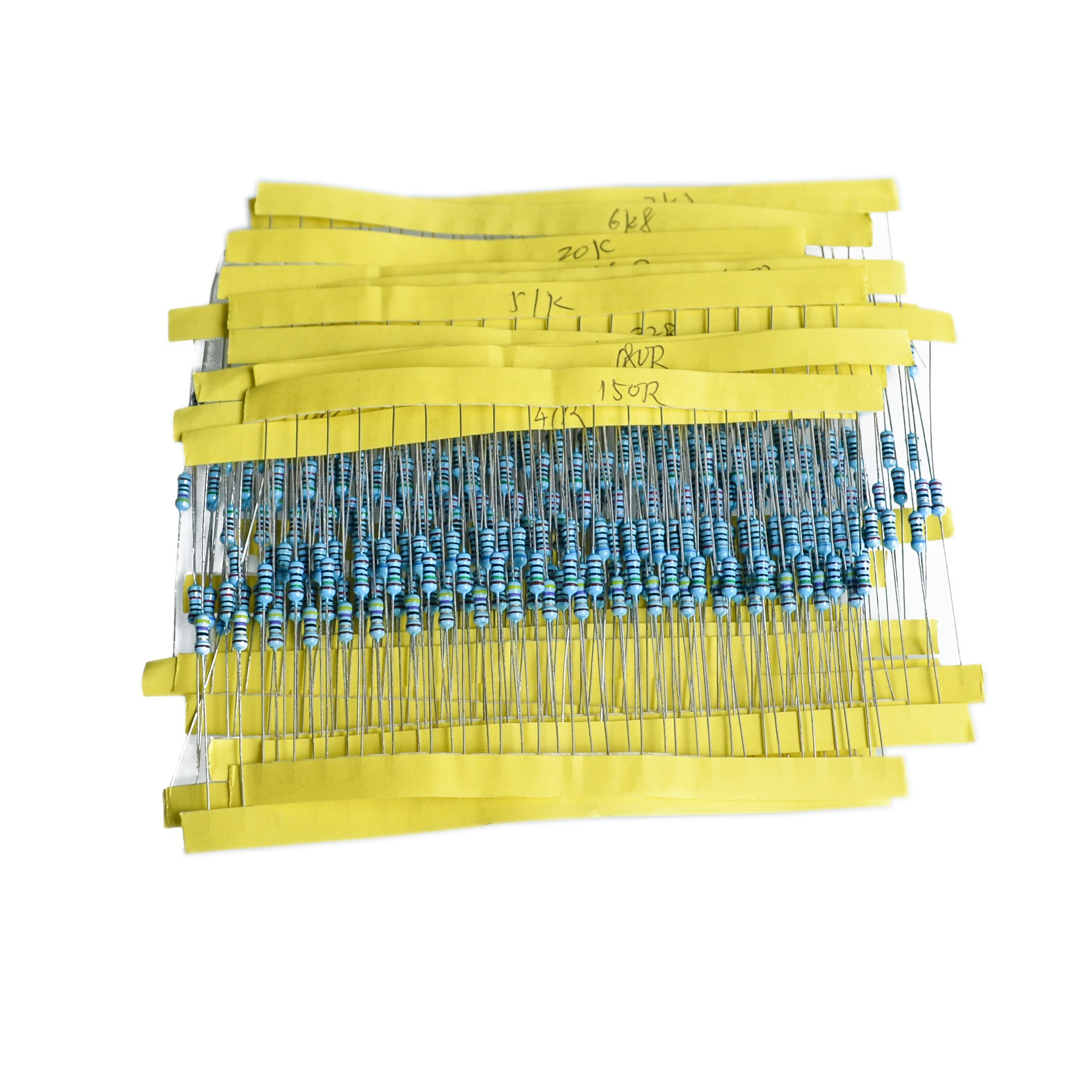 New 600pcs 1/4W 30 kinds resistance metal film resistors 1% accuracy,precision metal res ...