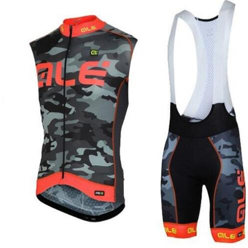 2017 Pro ALE style cycling jersey summer men cycling clothing ropa ciclismo maillot Cycling Sets gel pad