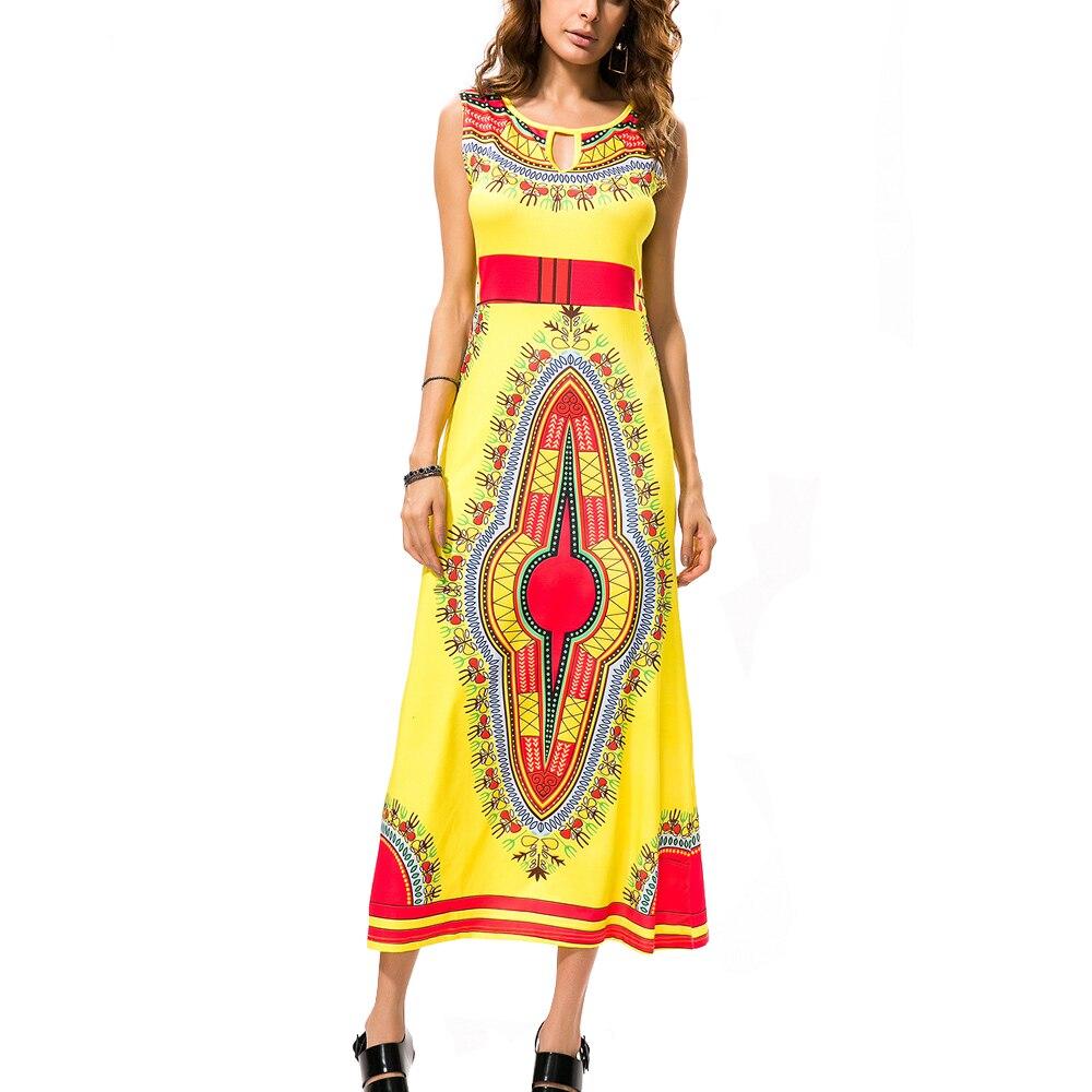 1aae94e044d832 2017 Vrouwen Farao Jurk Consument Aziatische Tunique Femme Koninklijke Hof  Nationale Bloem Print Lange Vleugel Etnische Jurken Robe Femme Ete in 2017  ...